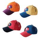 可愛恐龍兒童可鴨舌帽 男寶寶嘻哈棒球帽 女童遮陽卡通太陽帽子 88282