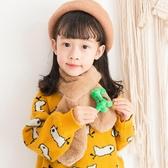 寶寶圍巾冬季毛絨