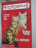 【書寶二手書T2/原文小說_HIM】The Visitor_Katherine Applegate