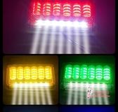 車燈 大貨車led邊燈汽車側燈24v腰燈強光防水超亮照地輪胎燈掛車倒車燈 5色