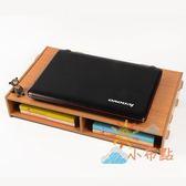85折免運-筆電增高架 辦公置物架桌面收納盒 液晶顯示器底座托架支架