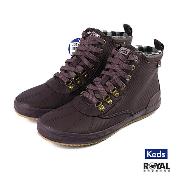 Keds Scout 暗紫色 防潑水 休閒鞋 女款 NO.J0129【新竹皇家 9194W112853】