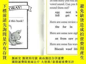 二手書博民逛書店英文原版繪本罕見I can read 汪培珽 Biscuit P
