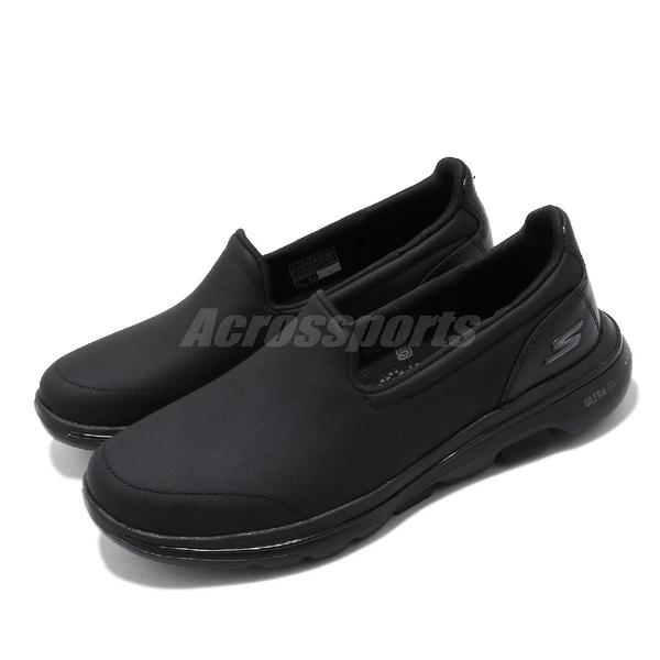 Skechers 休閒鞋 Go Walk 5-Polished 黑 灰 女鞋 健走鞋 運動鞋 【ACS】 15923BBK