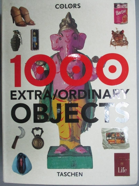 【書寶二手書T2/藝術_ISY】1000 Extra/Ordinary Objects_TOSCANI, OLIVERO