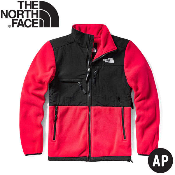 【The North Face 男 ICON經典保暖刷毛外套《黑/紅》】496U/保暖外套/夾克/休閒外套