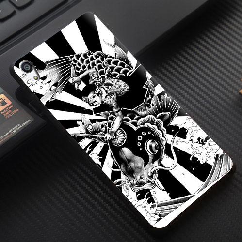 [文創客製化] Sony Xperia X Compact X Performance XP F5121 F5122 F5321 F8132 手機殼 130 日本 浮世繪