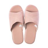 HOLA 現代皮拖鞋-粉XL