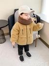 熱賣嬰兒羊羔毛外套 嬰兒韓版羊羔毛外套冬裝秋冬兒童裝男童小童加厚上衣寶寶潮【618 狂歡】