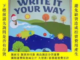二手書博民逛書店Write罕見It Your Way 英語原版Y67893 Unknown Dover Publication
