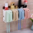 牙刷架 衛生間牙刷架壁掛式漱口杯吸壁式牙缸牙具置物架套裝免打孔刷牙杯【幸福小屋】