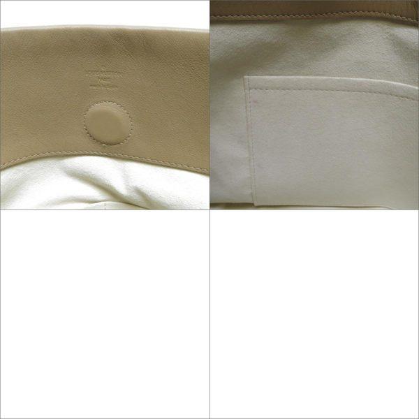 LV LOUIS VUITTON 路易威登棕色牛皮拼接原花手提肩背包M43536 【二手名牌 BRAND OFF】