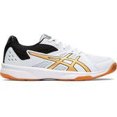 【胖媛的店】ASICS 女 排羽球鞋 UPCOURT 3 白金黑 1072A012-106