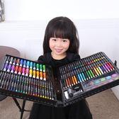 兒童畫筆套裝禮盒小學生畫畫工具美術學習用品繪畫水彩筆生日禮物igo 全館免運