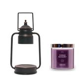 (組)EPOCHSIA x Pray守夜人金屬香氛蠟燭暖燈(S)-復古銅+檸檬薰