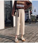 夏裝 工裝褲女法式寬鬆休閒顯瘦國潮韓版學生bf帥氣直筒褲