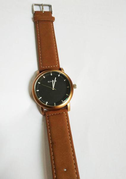 惡南宅急店【0380F】韓國空運‧男錶女錶情侶對錶可『倫敦冬感』麂皮手錶‧單價