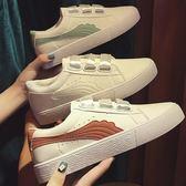 (全館一件免運)DE shop~(GG-6464)韓國熱銷配色帆布鞋