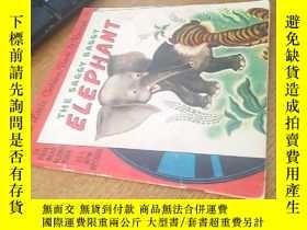 二手書博民逛書店THE罕見SAGGY BAGGY ELEPHANT 含一張唱片Y