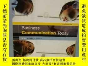 二手書博民逛書店英文原版罕見業務今天的溝通 Business Communication Today (8th Edition)奇