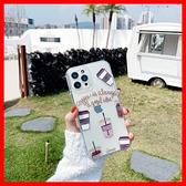 咖啡杯卡通透明殼 三星 A20 A50 A30s A70 A51 A71 A21s A42 S10+ 手機殼S20保護殼空壓殼