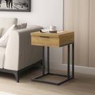 兩色可選 多功能單抽小邊桌/床頭櫃/邊几/小茶几/DIY自行組合產品