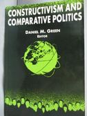 【書寶二手書T4/大學法學_XDT】Constructivism and Comparative Politics