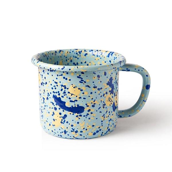 BORNN琺瑯 ISLAND BREEZE馬克杯300ml-地中海藍