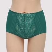 【曼黛瑪璉】包覆提托 雙弧  高腰三角修飾褲內褲(內斂綠)(未滿3件恕無法出貨,退貨需整筆退)