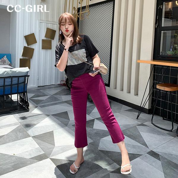 中大尺碼  多色百搭長褲~共兩款五色 - 適XL~5L《 68338HH 》CC-GIRL