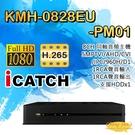 高雄/台南/屏東監視器 KMH-0828EU-PM01 8路同軸音頻主機 5MP TVI/AHD/CVI/IPC DVR