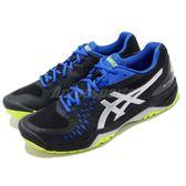 Asics 網球鞋 Gel-Challenger 12 黑 銀 舒適緩震 運動鞋 男鞋【PUMP306】 1041A045014