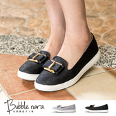 厚底鞋 小金匣領結樂福鞋。Bubble Nara波波娜拉。都會女孩新寵,超輕通勤鞋DA27956