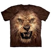 摩達客-(現貨)美國The Mountain 自然純棉系列 獅吼臉 T恤