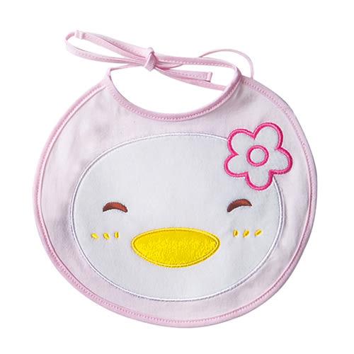 【奇買親子購物網】PUKU 可愛寶寶圍兜(藍/粉)