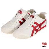 Asics Onitsuka Tiger 新竹皇家 MEXICO 66 白色/紅 布質 運動鞋 男女款 NO.A9781