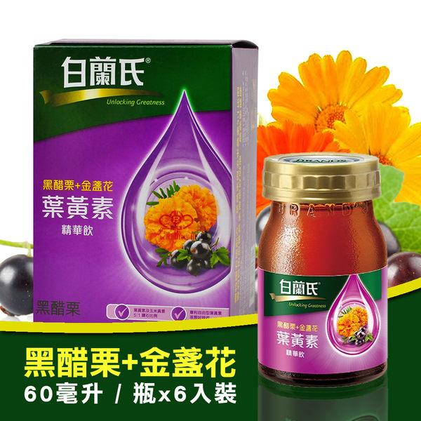 白蘭氏 黑醋栗+金盞花葉黃素精華飲 (60ml*6入)/盒【媽媽藥妝】