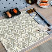 文藝日式和風棉麻布藝餐墊家用防燙隔熱墊