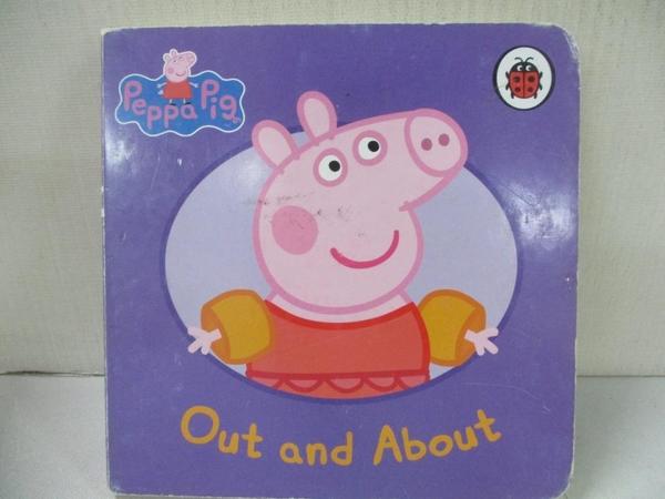 【書寶二手書T1/少年童書_A1C】Peppa Pig-Out and About_Neville Astley, Mark Baker