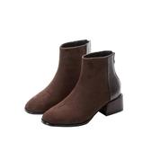 小短靴女新款秋冬短筒靴