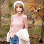 東京著衣-多色領捲邊波浪荷葉袖針織上衣(172950)