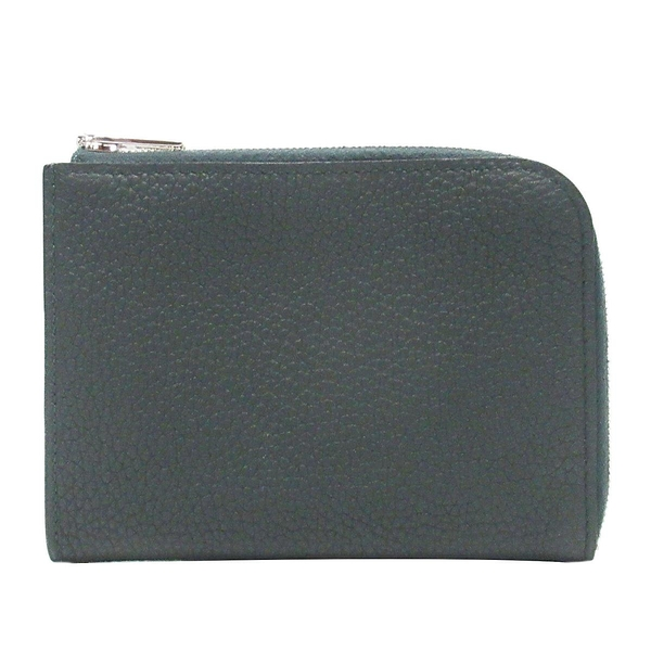 HERMES 愛馬仕 Remix ID Card Holder 2Q VERT ANGLAIS英國綠L拉鍊卡片零錢包 Y刻 Togo
