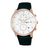 【人文行旅】Agnes b.   法國簡約雅痞 FBRW989 簡約時尚腕錶 40mm