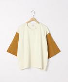 出清 女T恤 雙色 亨利領上衣 USA美國棉  日本品牌【coen】