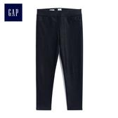 Gap女童 簡約純色打底長褲 512612-黑顏色