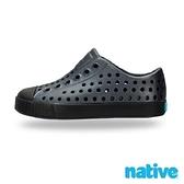 【南紡購物中心】【native】大童鞋JEFFERSON小奶油頭鞋-夜光黑