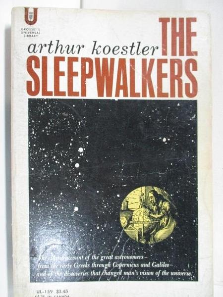 【書寶二手書T3/原文小說_AXP】The Sleep Walkers