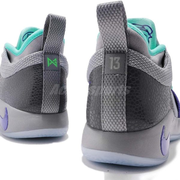 4b709ecb02e Nike PG 2 GS Safari 灰紫Paul George 果凍底女鞋大童鞋籃球鞋 PUMP306 ...