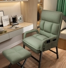 單人椅 家用電腦椅靠背沙發臥室書房大學生宿舍可躺椅子電競單人座凳TW【快速出貨八折搶購】