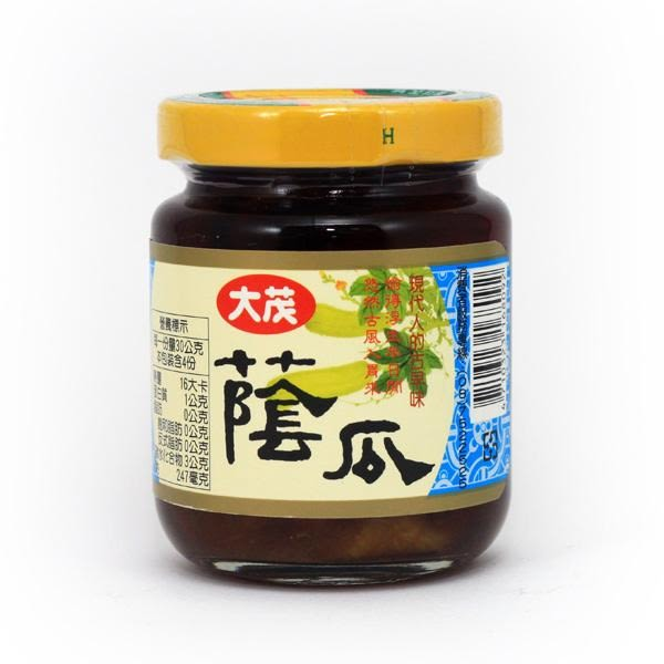 【大茂】蔭瓜120g *6罐(玻璃瓶)/組